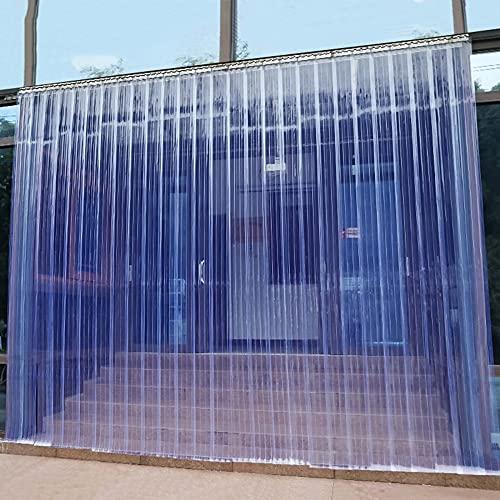 Cortina de tiras de PVC transparente para el compartimento del congelador, cortina...