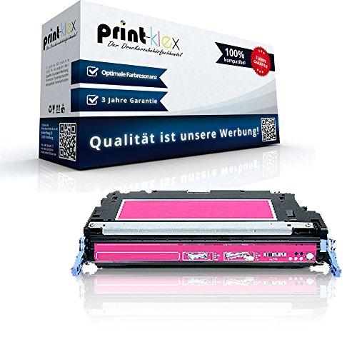Print-Klex Kompatible Tonerkartusche für HP Color LaserJet 3800DTN Color LaserJet 3800N Color LaserJet 3800 Series Q7583 A Rot Magenta