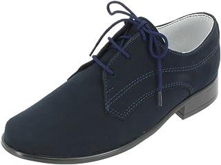 6ef96d85d85681 Boutique-Magique Chaussures de cérémonie Mariage soirée Enfant garçon Bleu  Marine