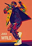 Bvlglp 5D DIY「Jugo-WRLD」Kits de Dibujo de Diamantes,Diamante imitación de para Bordado de Punto de Cruz,Manualidades...