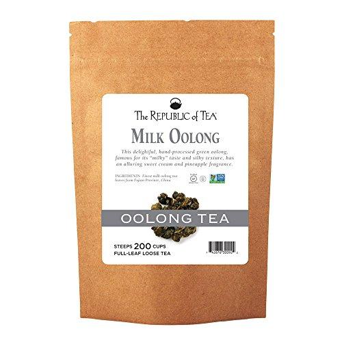The Republic of Tea Milk Oolong Full-Leaf Tea, 1 Pound. / 200 Cups