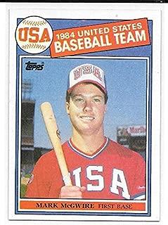 Best 1984 usa baseball team mark mcgwire card Reviews