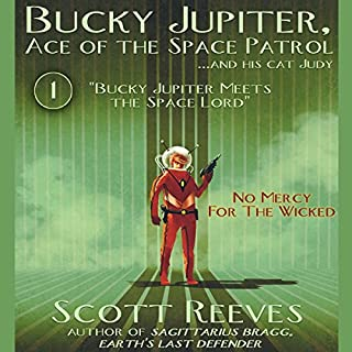 Bucky Jupiter Meets the Space Lord audiobook cover art