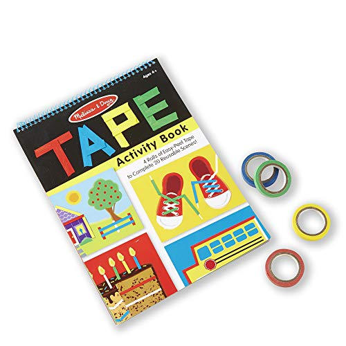 Melissa & Doug Tape Activity Book, Multi Color