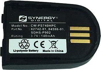 Synergy Digital Wireless Headset Battery Works with Plantronics W440 Wireless Headset  Li-Pol 3.7V 140 mAh  Ultra Hi-Capacity Compatible with Plantronics 82742-01 Battery