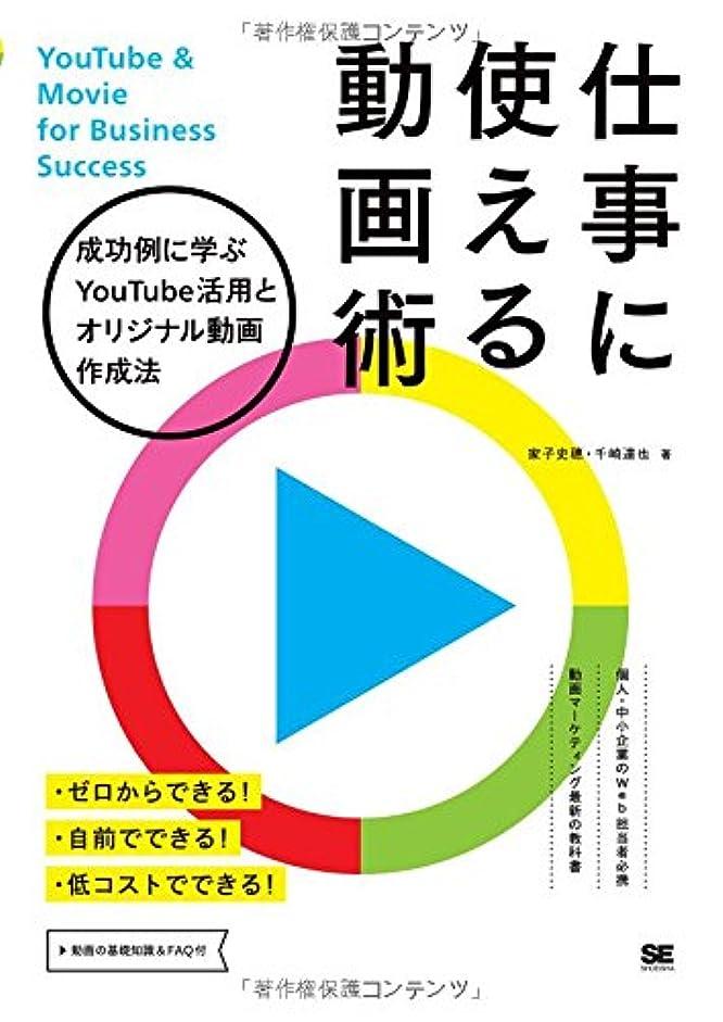 洗剤安息やさしく仕事に使える動画術 成功例に学ぶYouTube活用とオリジナル動画作成法