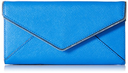 Rebecca Minkoff Cleo On a Chain Wallet, Grecian Blue, One Size