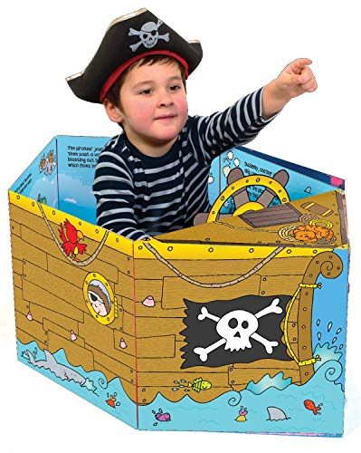 Convertible Pirate Ship – Great Value Sit In Pirate Ship, Interactive...