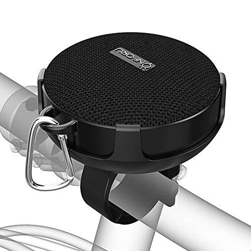 Onforu Altavoz Portátil Bluetooth Bicicleta, Speaker Inalámbrico Bici con Sonido Estéreo, Bluetooth5.0 y 10 Horas de Reproducción IP65 Impemeable, Mini Altavoz para Deporte Ciclismo al Aire Libre