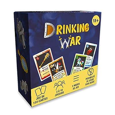 Drinking War (Version française) : Le Jeu stratégique à Boire pour des soirées Entre Amis