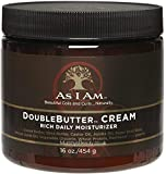 As I Am Double Butter Cream, 16 oz (Pack of 2)