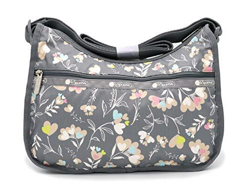 LeSportsac Classic Hobo Crossbody Handbag in Lovely Day, Medium