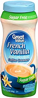 Great Value Sugar Free French Vanilla Coffee Creamer ( One Bottle)