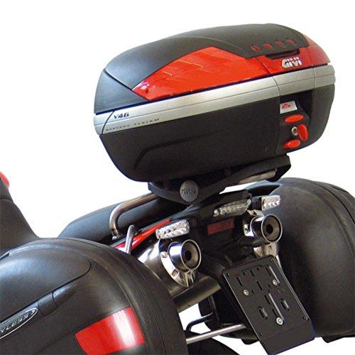 Givi SR79 Topcase Träger Monokey Koffer, Schwarz