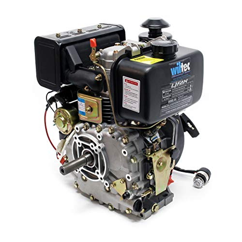 LIFAN C178FD Moteur Diesel 4,4kW 6CV 25mm Démarreur électrique et Alternateur