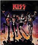 INTIMO KISS Blanket Destroyer Album Cover Music Band Super Soft Fleece Throw Blanket 48' x 60' (122cm x152cm)