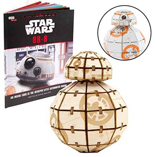 Star Wars BB-8 3D Wood Puzzle & Model Figure Kit...