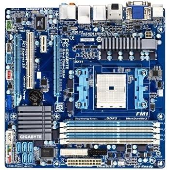 GIGABYTE マザーボード AMD Hudson-D3 FM1 mATX GA-A75M-UD2H