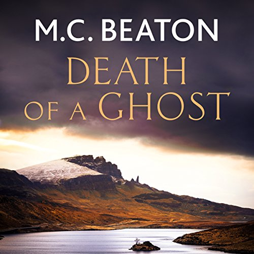 Hamish Macbeth: Death of a Ghost audiobook cover art