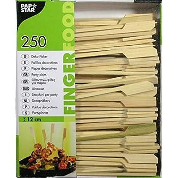 bambuswald© Fingerfood Holzspieße Grillspieße Gemüsespieße Spieße Bambus 12cm