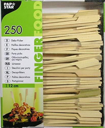 Papstar Fingerfood-Spieße / Holzspieße