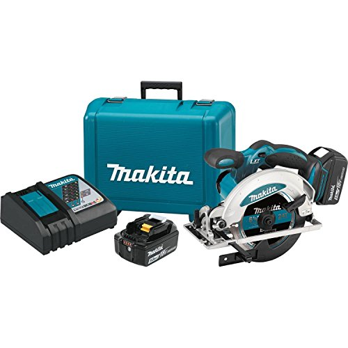 Makita XSS01T 18V LXT Lithium-Ion Cordless 6-1/2' Circular Saw Kit (5.0Ah)