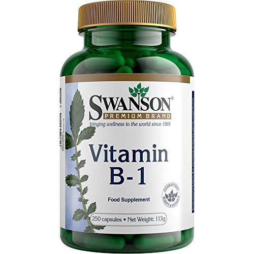 Swanson Vitamin B1 (Thiamin) 100mg, 250 Capsules