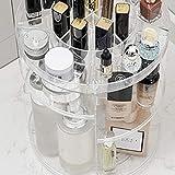 Envysun Kosmetikständer, 360 Grad drehbar, verstellbar, für Schmuck, Kosmetik, Parfüm, große Kapazität, Kosmetik-Organizer, Aufbewahrungsbox, für Kommode, Schlafzimmer oder Badezimmer