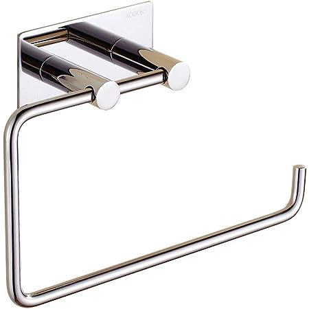 Wall Hanger Hook Self Adhesive Mount Door Bathroom Kitchen Towel Hat Holder