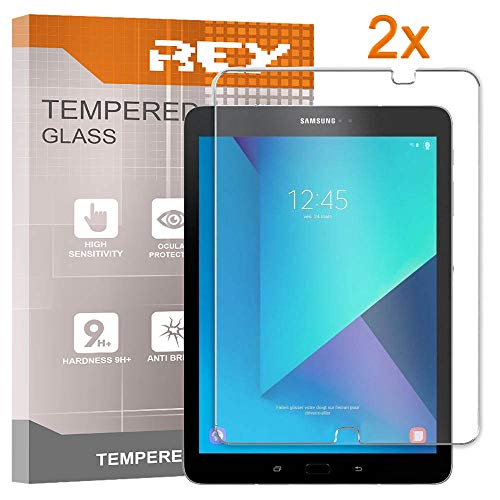 REY 2X Protector de Pantalla para Samsung Galaxy Tab S2 9.7