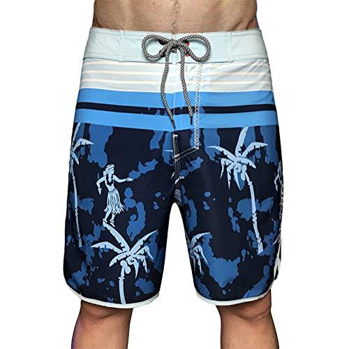 Home's - Pantalones cortos de running para hombre, secado rápido, transpirables, para gimnasio, entrenamiento, fitness, pantalones cortos de jogging con bolsillos de fuelle turquesa 28