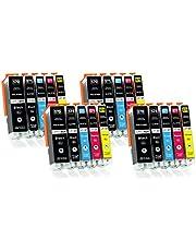 Supply Guy 20 XL Inktpatronen compatibel met Canon PGI-570 CLI-571 voor MG5700 MG5750 MG5751 MG5752 MG5753 MG6800 MG6850 MG6851 MG6852 MG6853 TS5000 TS5050 TS5051 TS5053 TS5055 TS6050 TS6051 TS6052