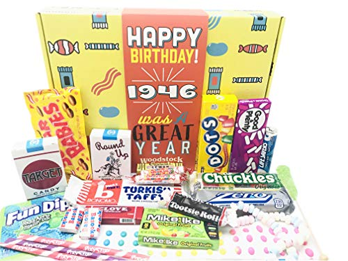 1946 Was a Very Good Year Retro Candy Gift Basket