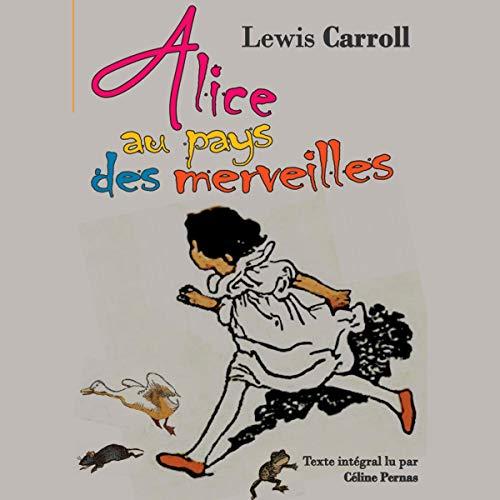 Page de couverture de Alice au pays des merveilles