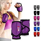XN8 Weighted Workout Gloves Neoprene - MMA Cardio Aerobics Fitness Wrist Hand Training Gym Boxing Weight Great for Building Strength - Speed in Arms