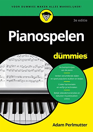 Pianospelen voor Dummies (Dutch Edition)