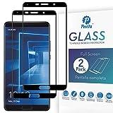 Pevita Protector de Pantalla para Huawei Mate 10 [2 Packs] Full Screen Cristal Templado Huawei Mate 10 Dureza 9H, Sin Burbujas, Fácil Instalación.