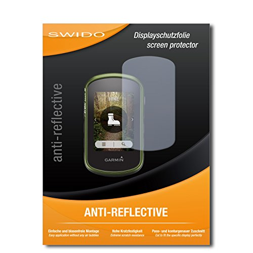 4 x SWIDO® Protector de pantalla Garmin eTrex Touch 35 Protectores de pantalla de película