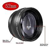Neewer 52mm Telephoto Lente con Bolsa para cámaras SLR Digitales y videocámaras con 52mm Rosca de Filtro