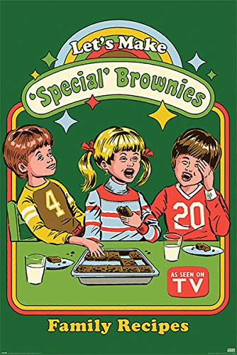 Close Up Steven Rhodes Poster Let's Make Special Brownies (61cm x 91,5cm)