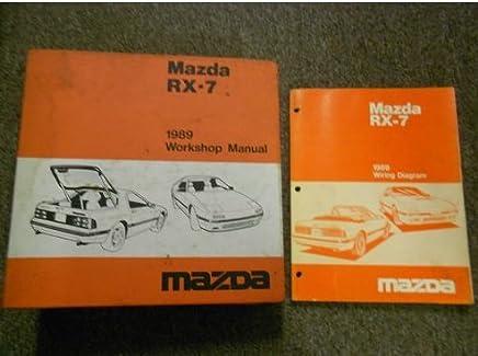 Amazon Com Mazda Rx7 Diagram