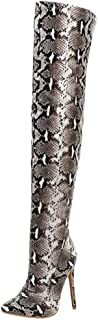 Lydee Mujer Moda OverBotas Rodilla Stiletto