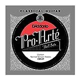 D'Addario ダダリオ クラシックギター弦 Pro-Arté Treble Half Sets 高音弦ハーフセット Carbon Normal CBN-3T 【国内正規品】
