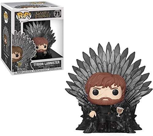 YUEDAI Juego de Tronos Pop Figura: Tyrion Lannister Trono versión en Caja de colección Adornos Vinilo Figura 10 CM