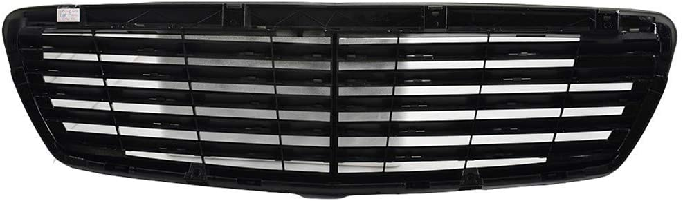 RainMan S Glossy Black Front Grille 55% OFF Grill Regular dealer for Mercedes W211 Fit