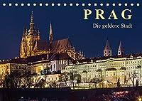 Prag - die goldene Stadt (Tischkalender 2022 DIN A5 quer): Drehscheibe der Kulturen (Monatskalender, 14 Seiten )