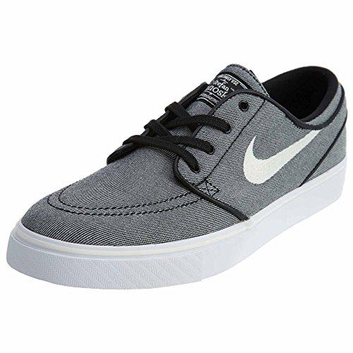 Nike Zoom Stefan Janoski Canvas Men's Black/Sail Skate Shoes 9M