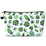 Pochette per Trucchi Palma - Beauty Case da viaggio Donna Tropicale Monstera Pochette Port...