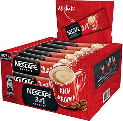 Nescafé 3in1 Stix Portionssticks 3in1 Kaffee Großhandel Preis Original Strong (Original, 60 Stix)