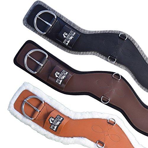 Total Saddle Fit - Shoulder Relief Cinch - Western Cinch (Brown, 30' w/Black Neoprene)